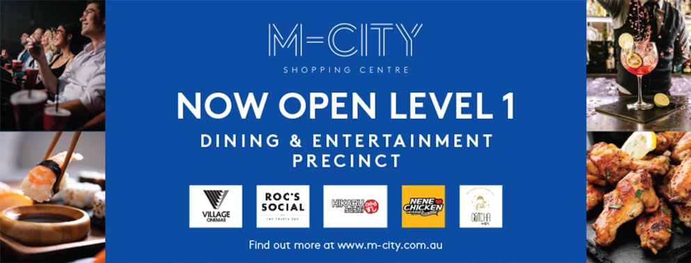M-City Dining & Enterainment Precinct Now Open
